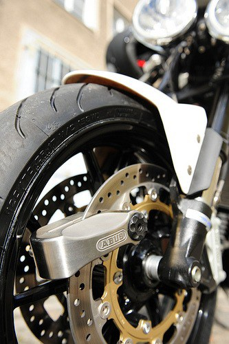 Motorcycle theft prevention, motorcycle disc lock, motorcycle wheel lock
