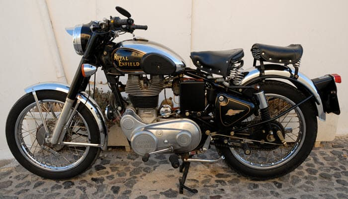 Royal Enfield - a classic motorbike for women