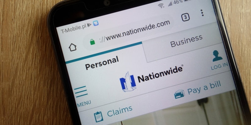 Nationwide Insurance app on mobile