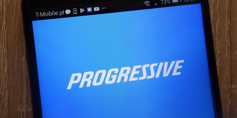 Progressive Insurance app on mobile