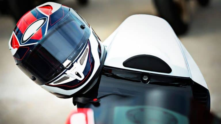 What To Do With Your Motorcycle Helmet When You're Parked
