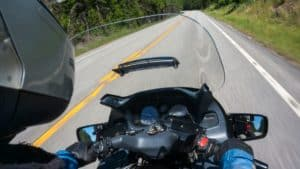 what causes motorcycle death wobble