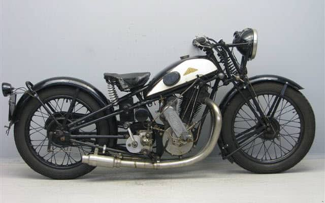 Cotton M25 500 cc motorcycle with a Blackburne engine from 1928