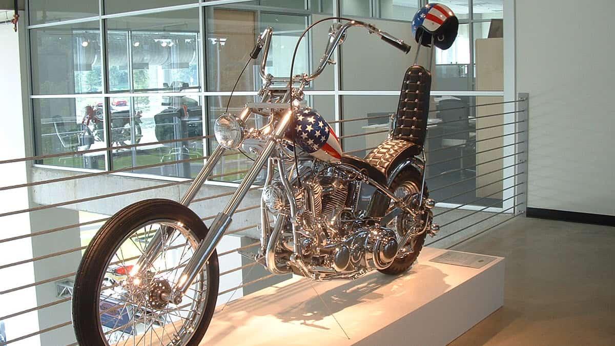 Harley-Davidson Panhead Chopper used in Easy Rider