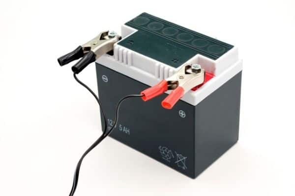 motorcycle battery charging